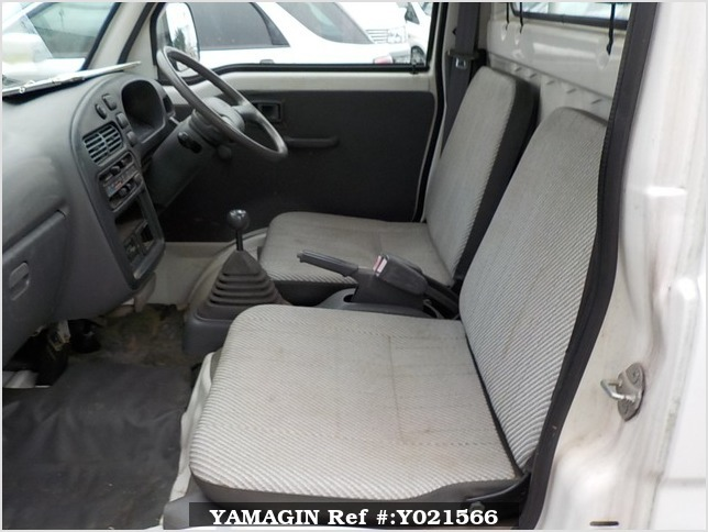 It is a picture of the white daihatsu hijet  truck in 1997,Sub Photo 10 Stock No.Y021566