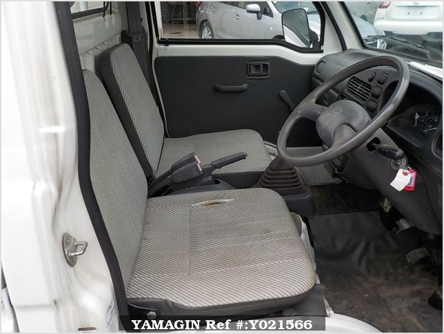 It is a picture of the white daihatsu hijet  truck in 1997,Sub Photo 8 Stock No.Y021566