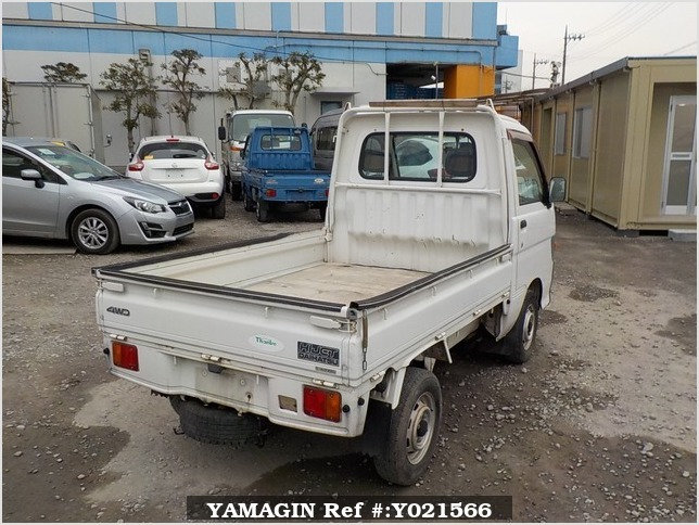It is a picture of the white daihatsu hijet  truck in 1997,Sub Photo 2 Stock No.Y021566