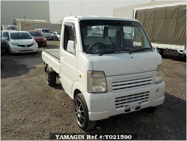 It is a picture of the pearl suzuki carry truck in 2006,Sub Photo 0 Stock No.Y021590