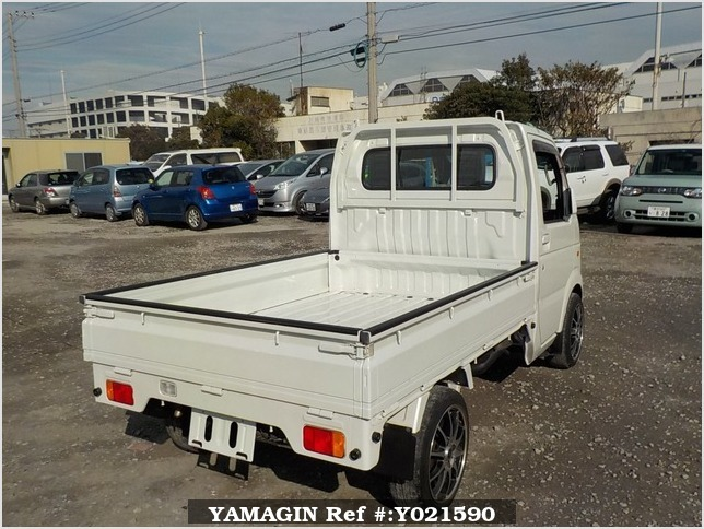 It is a picture of the pearl suzuki carry truck in 2006,Sub Photo 2 Stock No.Y021590