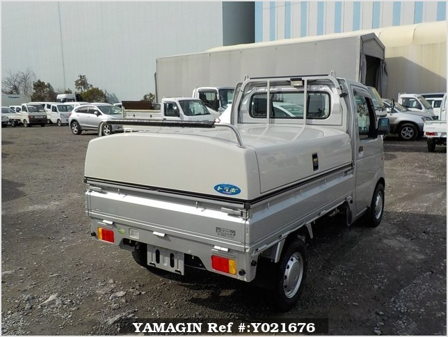 It is a picture of the silver suzuki carry truck in 2008,Sub Photo 2 Stock No.Y021676