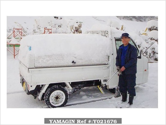 It is a picture of the silver suzuki carry truck in 2008,Sub Photo 18 Stock No.Y021676