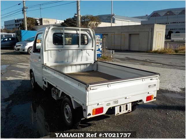 It is a picture of the white suzuki carry  truck in 2003,Sub Photo 3 Stock No.Y021737