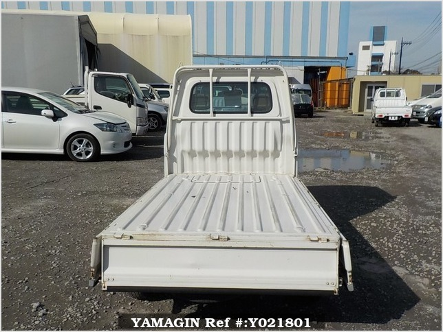 It is a picture of the white daihatsu hijet truck in 1998,Sub Photo 4 Stock No.Y021801