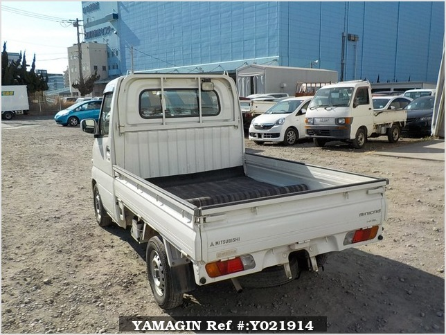 It is a picture of the white mitsubishi minicab truck in 2004,Sub Photo 3 Stock No.Y021914