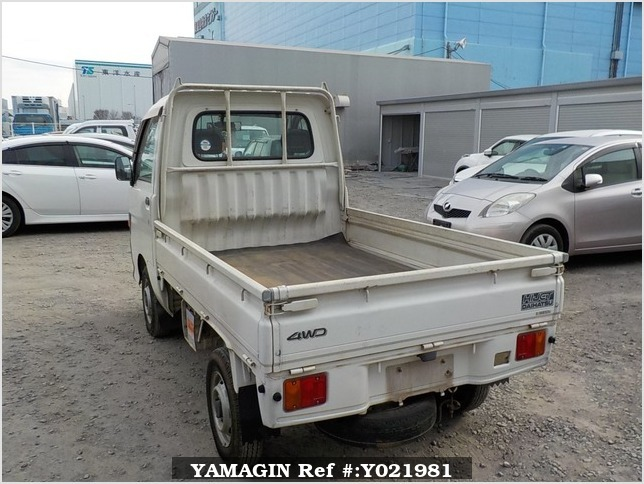 It is a picture of the white daihatsu hijet truck in 1997,Sub Photo 3 Stock No.Y021981