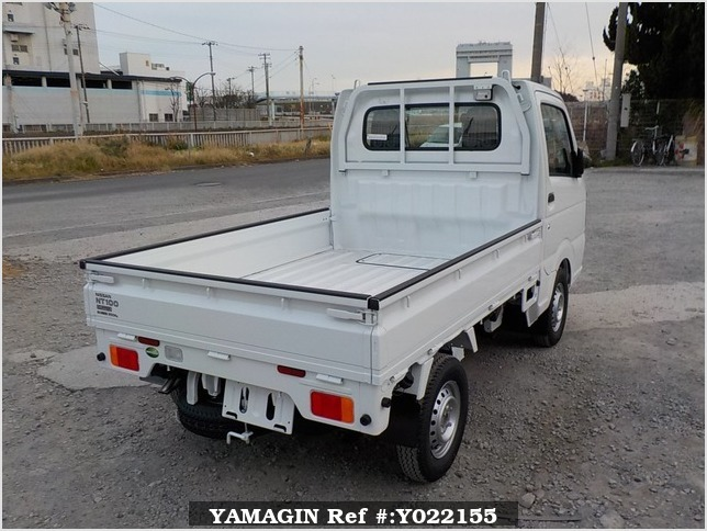 It is a picture of the white nissan nt100 clipper truck in 2019,Sub Photo 2 Stock No.Y022155
