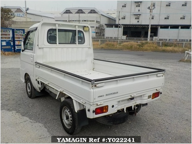 It is a picture of the white daihatsu hijet truck in 2005,Sub Photo 3 Stock No.Y022241