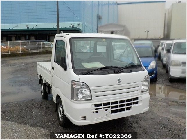 It is a picture of the white suzuki carry dump in 2014,Sub Photo 1 Stock No.Y022366
