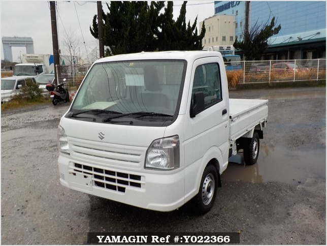 It is a picture of the white suzuki carry dump in 2014,Sub Photo 2 Stock No.Y022366
