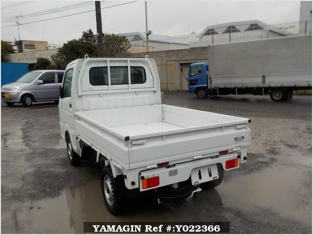 It is a picture of the white suzuki carry dump in 2014,Sub Photo 4 Stock No.Y022366