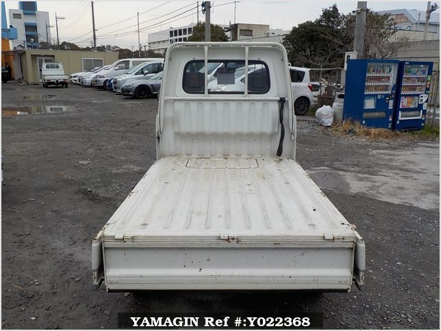 It is a picture of the white daihatsu hijet truck in 1995,Sub Photo 4 Stock No.Y022368