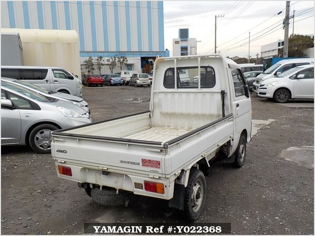 It is a picture of the white daihatsu hijet truck in 1995,Sub Photo 2 Stock No.Y022368