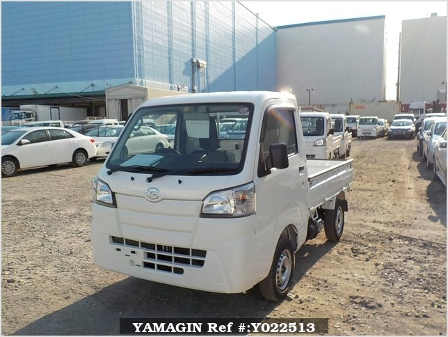It is a picture of the white daihatsu hijet dump in 2019,Sub Photo 2 Stock No.Y022513