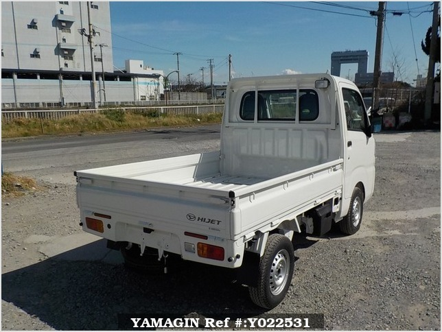 It is a picture of the white daihatsu hijet  truck in 2018,Sub Photo 2 Stock No.Y022531