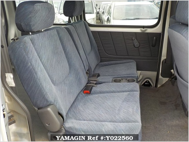 It is a picture of the silver suzuki every passenger van in 2002,Sub Photo 10 Stock No.Y022560