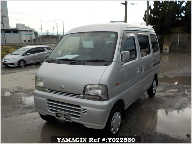 It is a picture of the silver suzuki every passenger van in 2002,Sub Photo 1 Stock No.Y022560