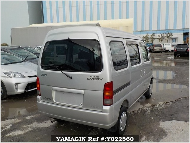 It is a picture of the silver suzuki every passenger van in 2002,Sub Photo 2 Stock No.Y022560
