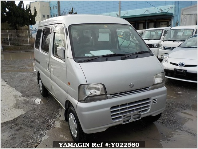 It is a picture of the silver suzuki every passenger van in 2002,Sub Photo 0 Stock No.Y022560