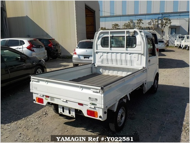 It is a picture of the white suzuki carry  truck in 2010,Sub Photo 2 Stock No.Y022581