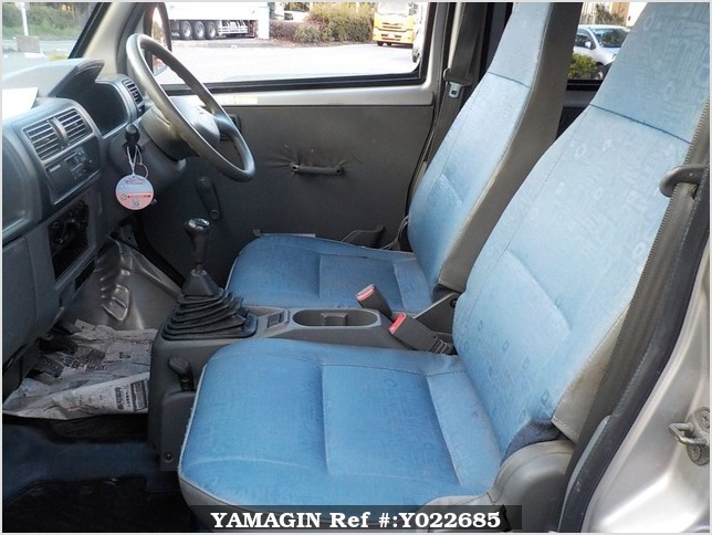 It is a picture of the silver mitsubishi minicab passenger van in 2000,Sub Photo 13 Stock No.Y022685