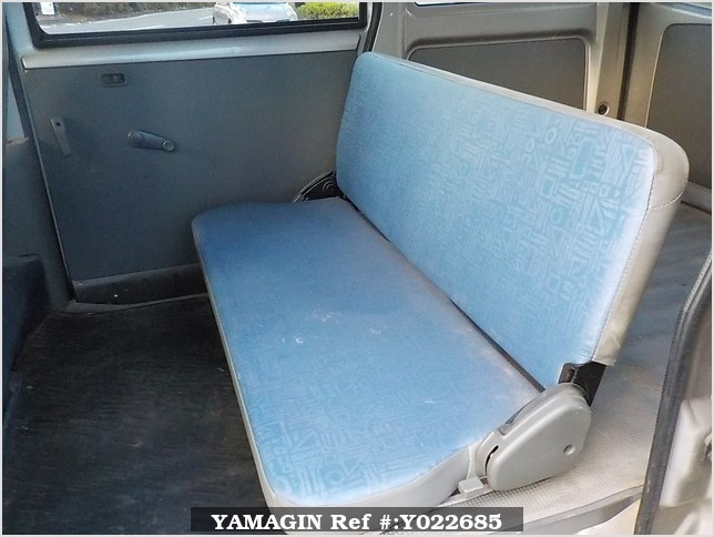 It is a picture of the silver mitsubishi minicab passenger van in 2000,Sub Photo 14 Stock No.Y022685