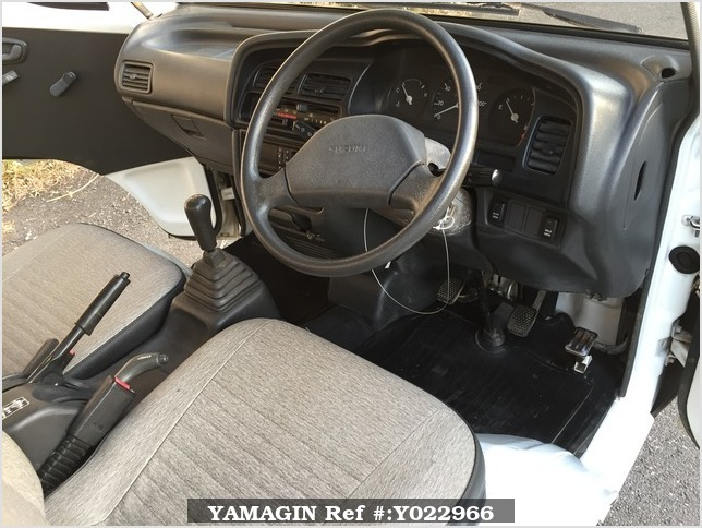 It is a picture of the white suzuki carry truck in 1993,Sub Photo 9 Stock No.Y022966