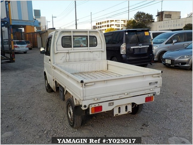 It is a picture of the white suzuki carry dump in 2007,Sub Photo 4 Stock No.Y023017