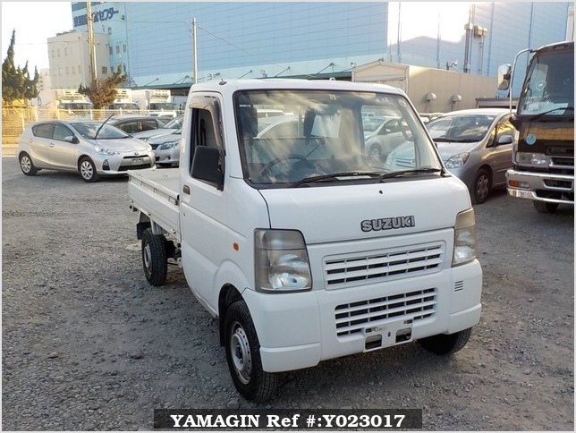 It is a picture of the white suzuki carry dump in 2007,Sub Photo 1 Stock No.Y023017