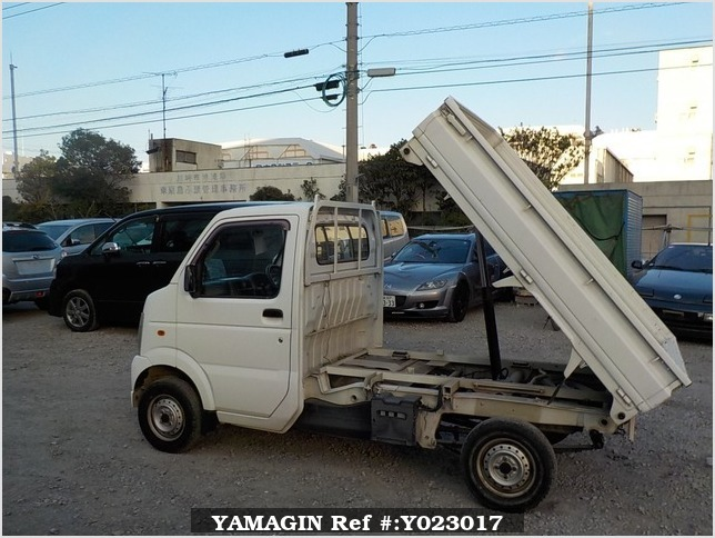 It is a picture of the white suzuki carry dump in 2007,Sub Photo 15 Stock No.Y023017