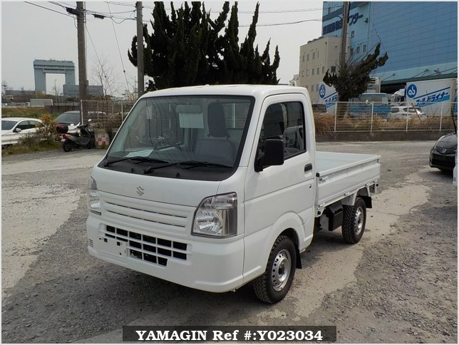 It is a picture of the white suzuki carry dump in 2018,Sub Photo 2 Stock No.Y023034