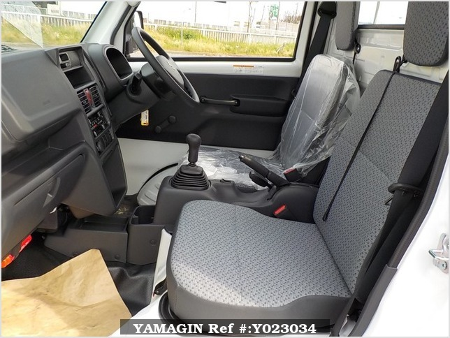 It is a picture of the white suzuki carry dump in 2018,Sub Photo 14 Stock No.Y023034