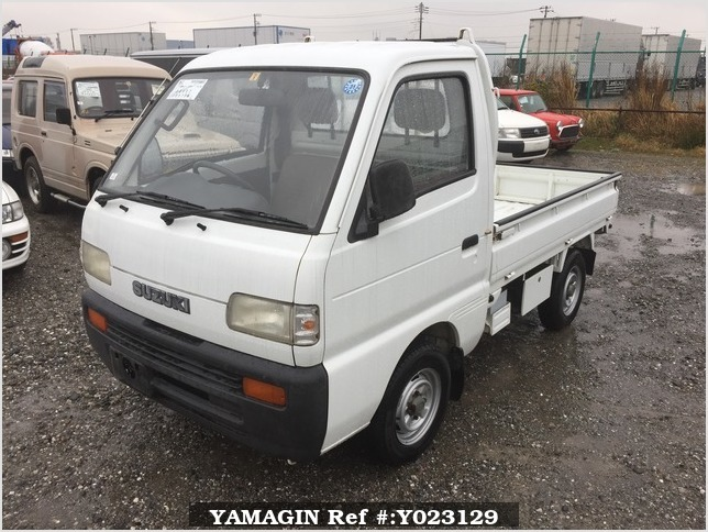 It is a picture of the white suzuki carry truck in 1994,Sub Photo 1 Stock No.Y023129