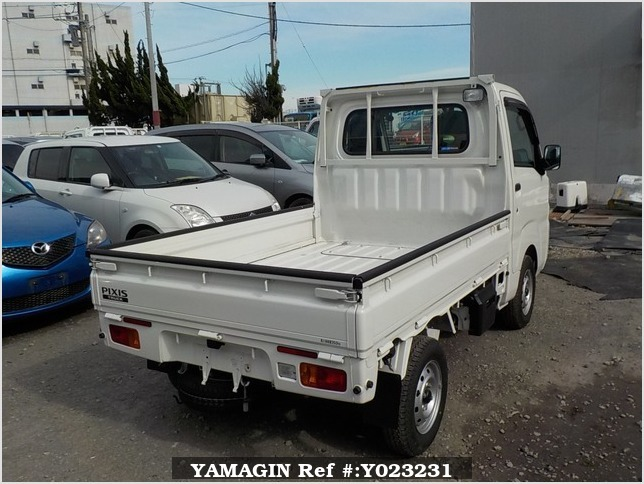 It is a picture of the white toyota pixis  truck in 2017,Sub Photo 2 Stock No.Y023231