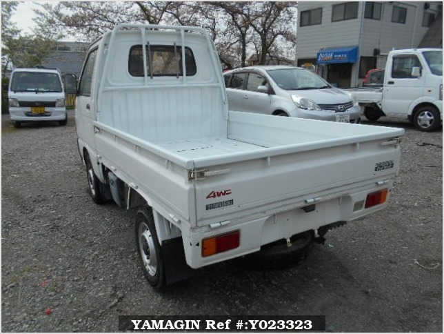 It is a picture of the white daihatsu hijet truck in 1993,Sub Photo 3 Stock No.Y023323