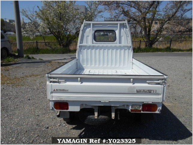 It is a picture of the white mitsubishi minicab truck in 1994,Sub Photo 4 Stock No.Y023325
