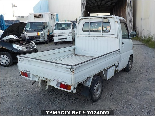 It is a picture of the white nissan clipper truck in 2004,Sub Photo 2 Stock No.Y024092
