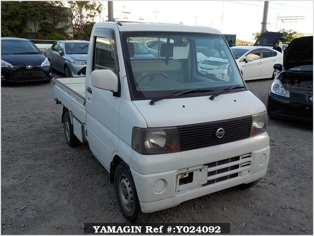 It is a picture of the white nissan clipper truck in 2004,Sub Photo 0 Stock No.Y024092