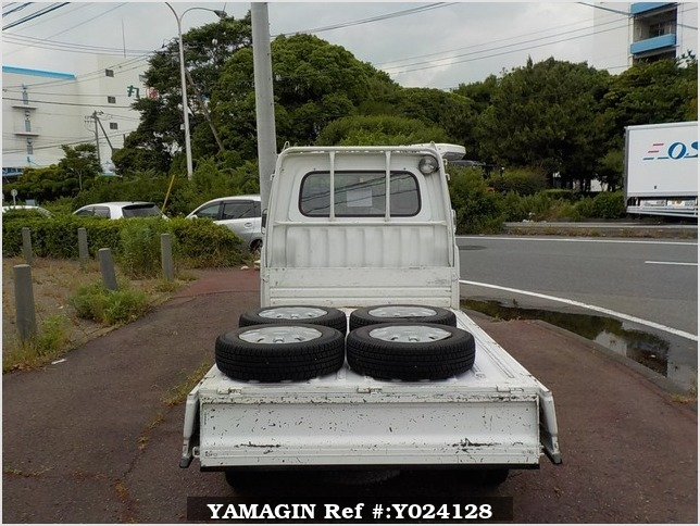 It is a picture of the white daihatsu hijet dump in 1994,Sub Photo 5 Stock No.Y024128