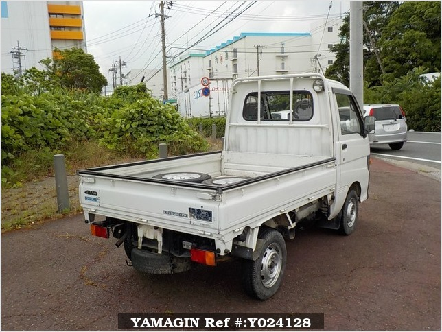 It is a picture of the white daihatsu hijet dump in 1994,Sub Photo 3 Stock No.Y024128