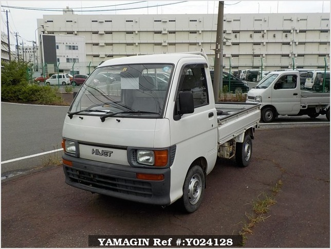 It is a picture of the white daihatsu hijet dump in 1994,Sub Photo 2 Stock No.Y024128