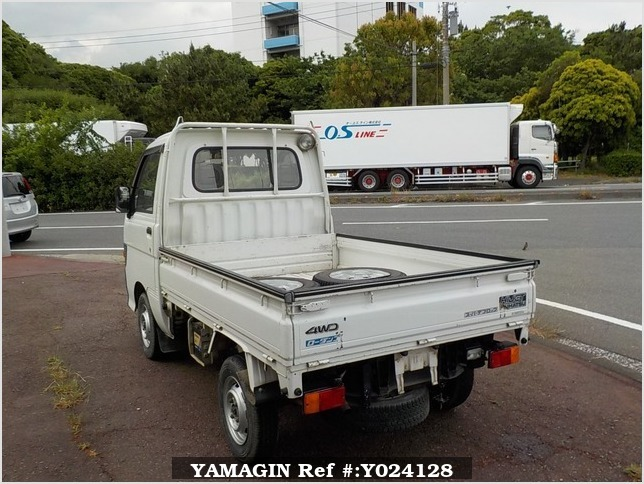 It is a picture of the white daihatsu hijet dump in 1994,Sub Photo 4 Stock No.Y024128