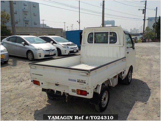 It is a picture of the white daihatsu hijet truck in 2005,Sub Photo 2 Stock No.Y024310