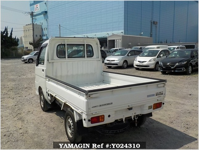 It is a picture of the white daihatsu hijet truck in 2005,Sub Photo 3 Stock No.Y024310