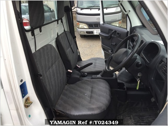 It is a picture of the white suzuki carry dump in 2004,Sub Photo 6 Stock No.Y024349