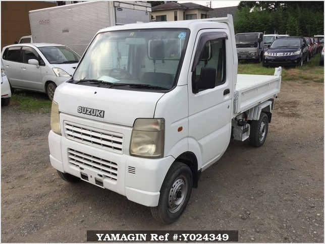 It is a picture of the white suzuki carry dump in 2004,Sub Photo 2 Stock No.Y024349
