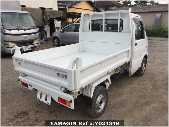 It is a picture of the white suzuki carry dump in 2004,Sub Photo 3 Stock No.Y024349