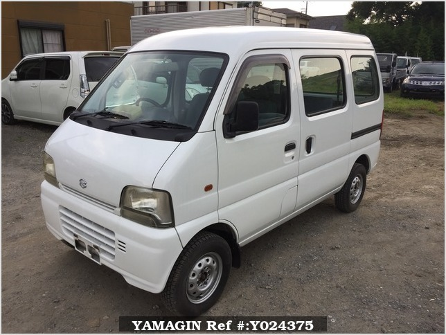 It is a picture of the white suzuki every passenger van in 2005,Sub Photo 1 Stock No.Y024375