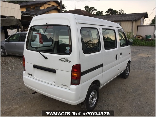 It is a picture of the white suzuki every passenger van in 2005,Sub Photo 2 Stock No.Y024375